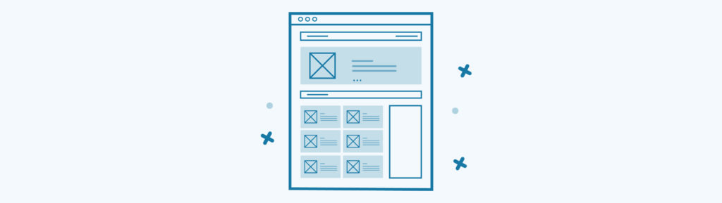 What's a website wireframe? (And why this is a great place to start when starting your new website design)