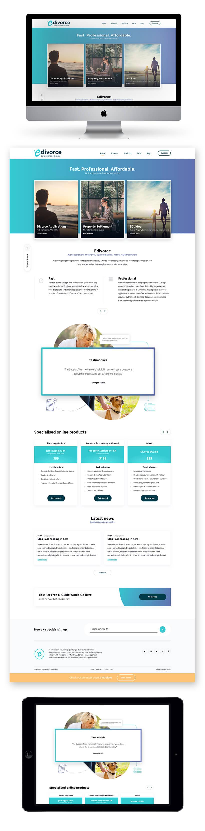 eDivorce Site