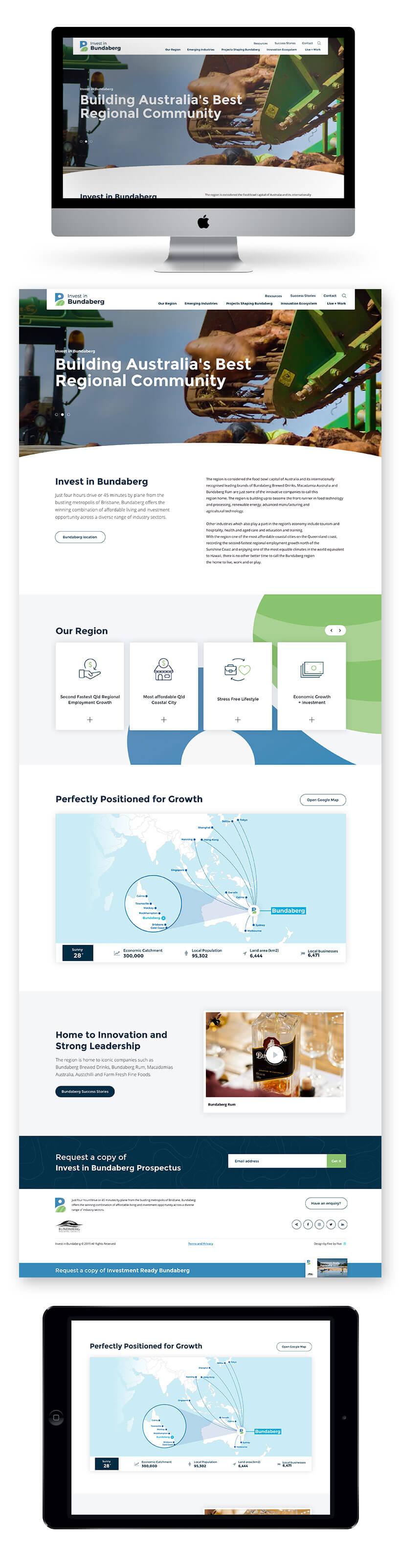 Invest in Bundaberg Site